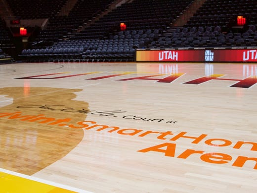 30a5972f6 The Southern Utah Jazz  New red rock-inspired court and uniforms to ...