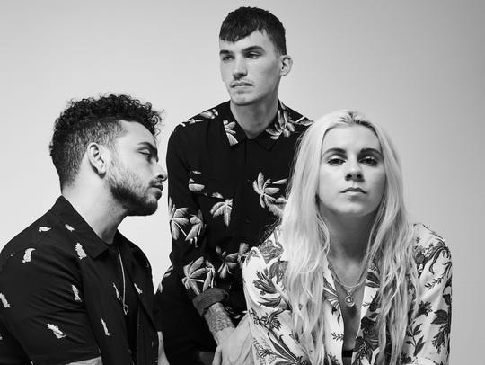 PVRIS performs at the Rave Tuesday.