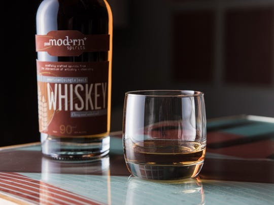 Post Modern Spirits American single malt whiskey