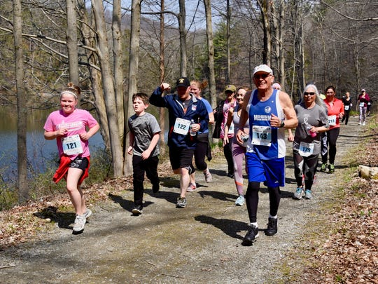 Runners take part in the 15th annual Miles of Hope