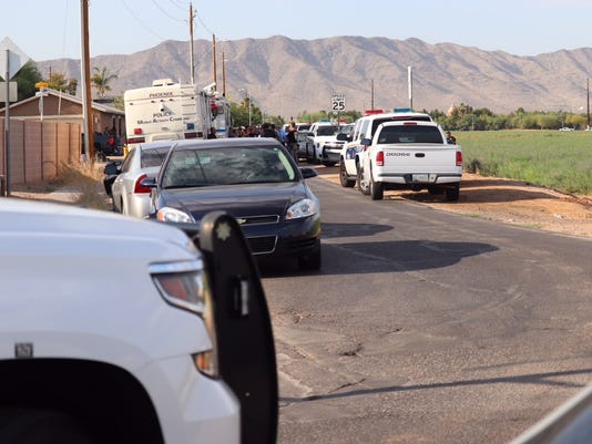 Police-involved shooting in south Phoenix