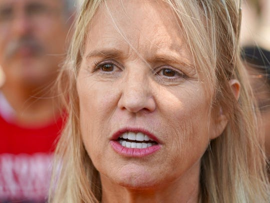 Kerry Kennedy of the Robert F. Kennedy Human Rights
