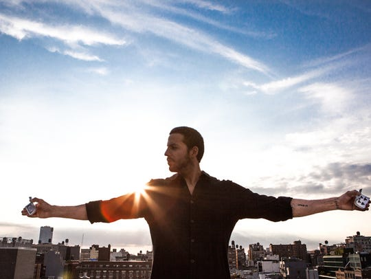 Magician and stunt man David Blaine has won fame for