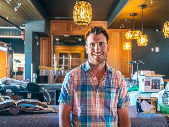 Travis Dowden, who also operates Bibinger's in Cedar