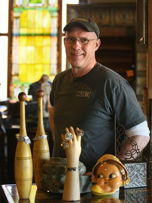 """Don Short, owner of West End Architectural Salvage, is featured on HGTV's """"West End Salvage"""" show."""