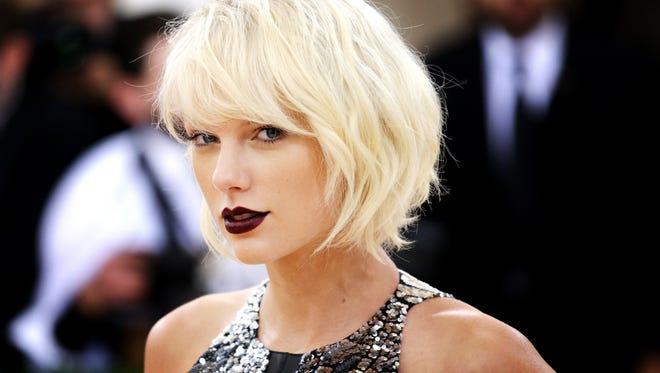 Taylor Swift in 2016.