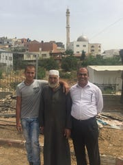 Rashid & Rafat Kabaha with a their nephew.