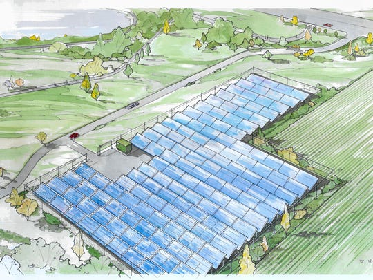 Cedar Falls Utilities plans will offer city residents shares in a new community solar garden for $399 each. One share provides about 2.5 percent of an average home's energy.