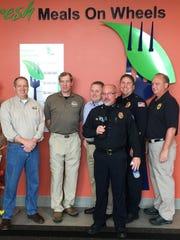 Half a dozen local police chiefs and Sheboygan County