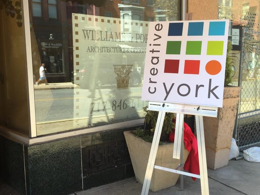 YorkArts, an arts-based nonprofit organization in downtown York, announced its new name Creative York Thursday afternoon. The organization will focus on teaching creativity.