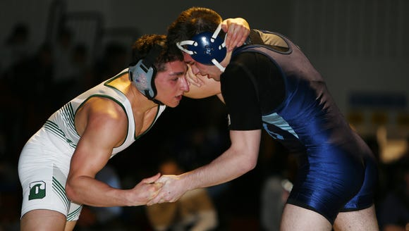 Marco Gaita of West Morris vs. AJ Lonski of Delbarton
