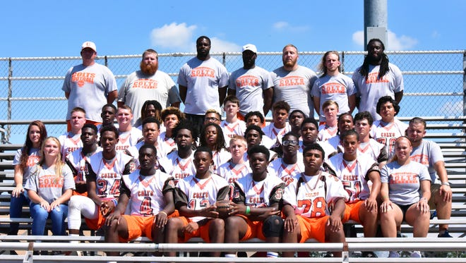 The 2016 Cumberland Regional High School team.
