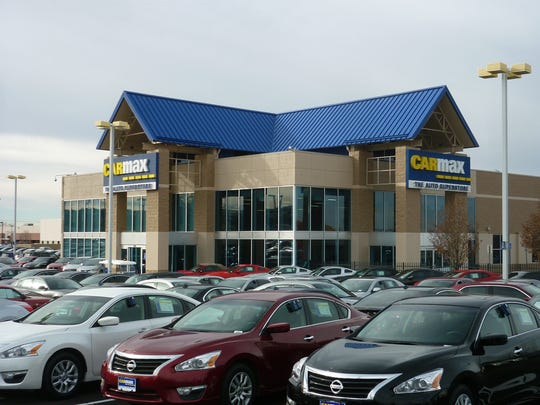 This is the CarMax store in Albuquerque, the company's current closest location to El Paso. Its El Paso store is scheduled to open in June.