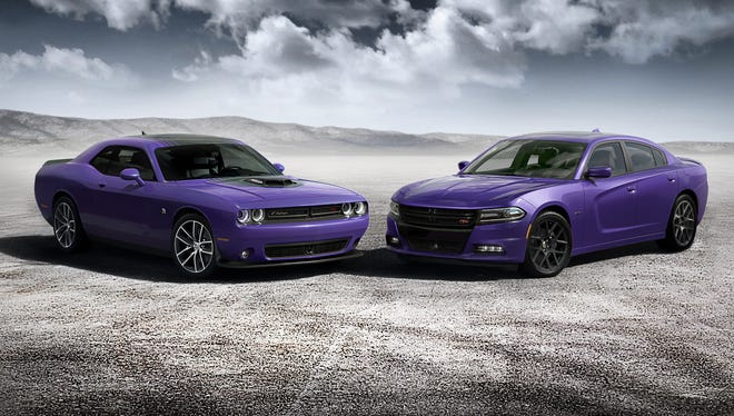 Some Dodge performance cars are coming back in Plum Crazy, a purple paint color
