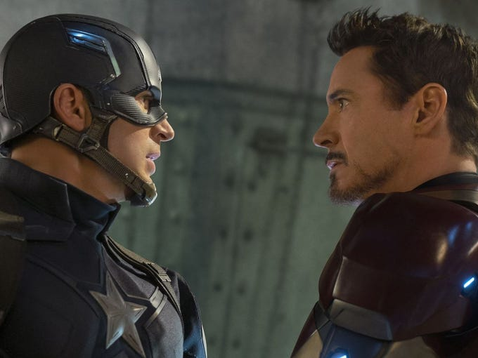 "Friends become enemies in ""Captain America: Civil War,"""