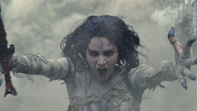 Sofia Boutella stars as the formidable title character in 'The Mummy.'