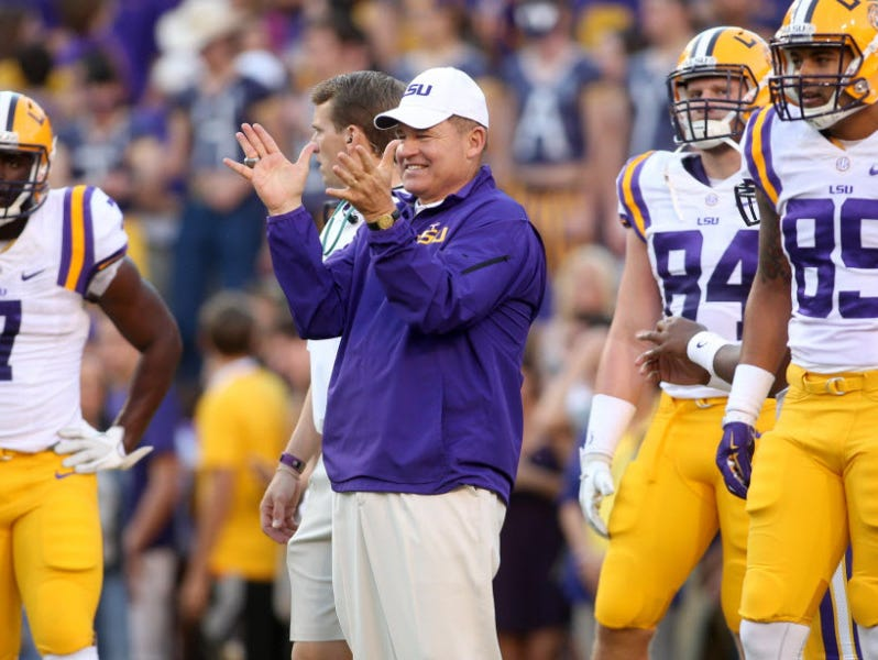 LSU retained the No. 3 spot in the FourSight College Football Playoff projection.
