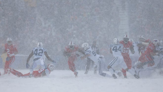 Buffalo Snow Storm Prevented Broncos From Watching Colts Bills Game On Film