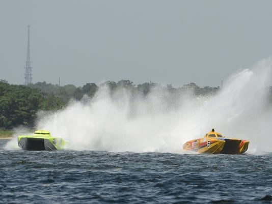 Speed-boat races