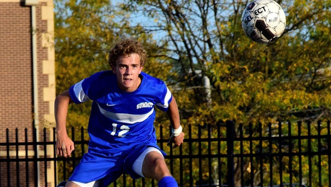 Summit junior Sam Martin is second on the team and fourth in the Miami Valley Conference in scoring with 39 points, including 15 goals.