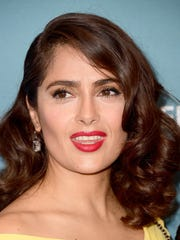 "Actress Salma Hayek stars in the upcoming ""Drunk Parents,"" which filmed scenes at a Sleepy Hollow home."