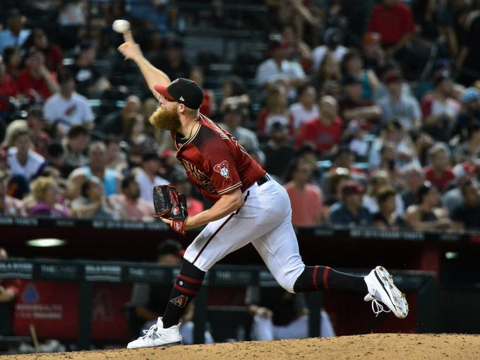 Aug 5, 2018; Phoenix, AZ, USA; Arizona Diamondbacks
