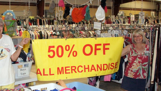 'Shop Smart' this holiday season. St. Vincent de Paul Thrift Store at 400 S. 12th St., invited customers to a store-wide sale on Friday.