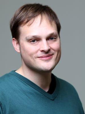 "Louisville native Garth Greenwell is the author if ""What Belongs to You."""