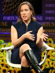 YouTube CEO Susan Wojcicki appears at the Most Powerful