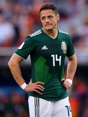 Javier 'Chicharito' Hernández espera su primer hijo.