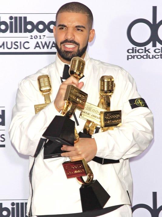 El rapero estadounidense Drake Charts rompe el récord de los Beatles
