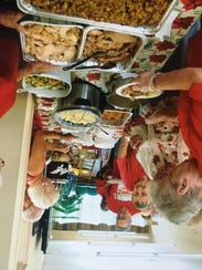 Millville Senior Center celebrated Christmas in July