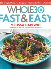 """Whole 30 Fast & Easy"" is the source for the zucchini-wrapped"
