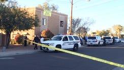Phoenix police were investigating a homicide near 12th