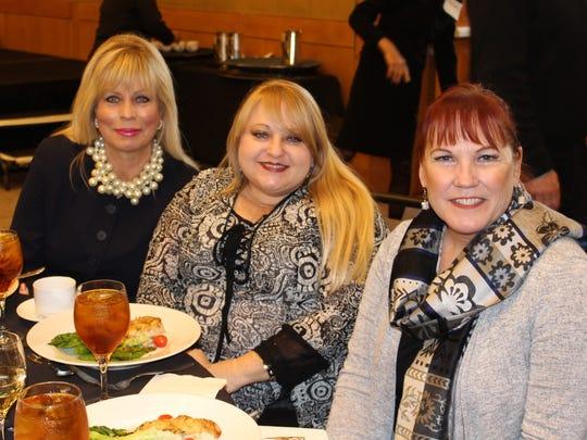 Teri Finley, Teresa Sivigliano, and Michele McDonough enjoying lunch.