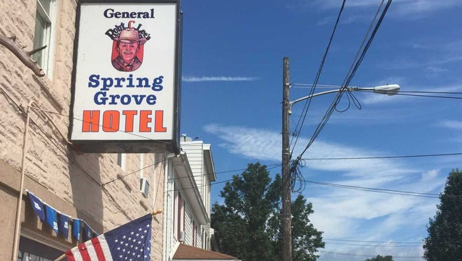 General Lee owns a tavern in Spring Grove? Who knew?