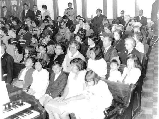 The congregation was thriving in the 1960s and continues