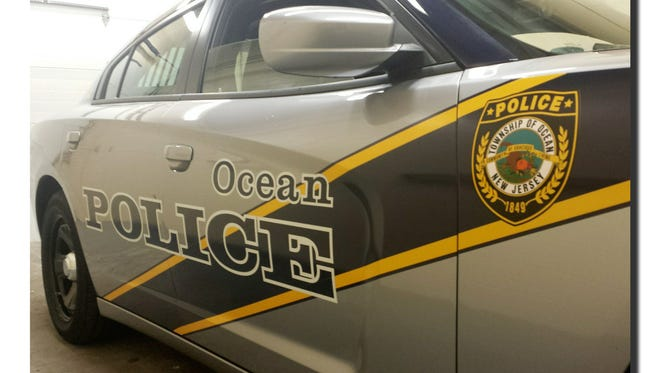 A patrol car in the inventory of the Ocean Township Police Department in Monmouth County.
