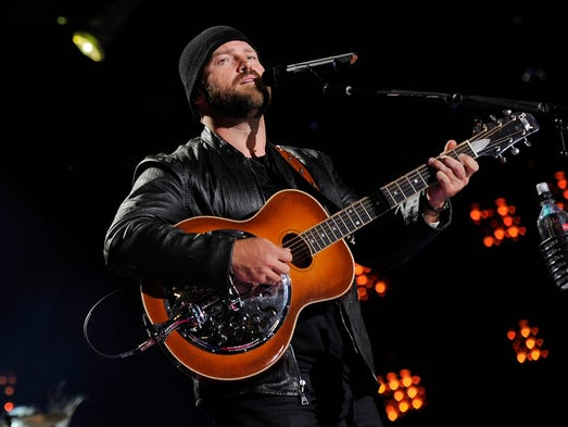 Zac Brown Band performs at CMA Music Fest at LP Field Sunday June 8, 2014.