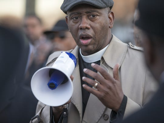 The Rev. Charles Harrison, of the Ten Point Coalition,