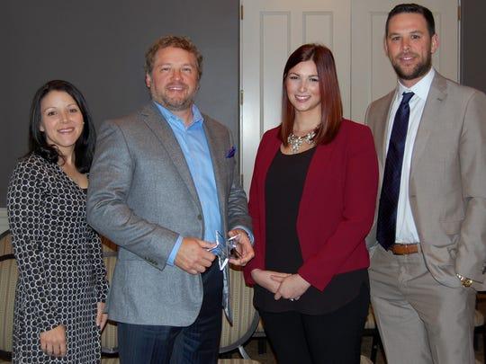 The Gleason Group was honored at Van Eaton & Romero