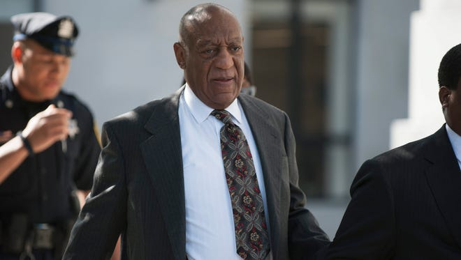 Bill Cosby arrives to court in Norristown, Pa., on May 24, 2016.