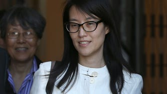 Ellen Pao leaves the San Francisco Superior Court Civic Center Courthouse on March 27, 2015 in San Francisco, California. A jury found no gender bias against Reddit interim CEO Ellen Pao and former employee at Silicon Valley venture capital firm Kleiner Perkins Caulfield and Byers.