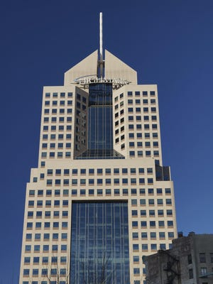 Highmark's headquarters in downtown Pittsburgh. Two of the company's subcontractors were breached.