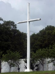 The Bayview Park Cross is the subject of a lawsuit