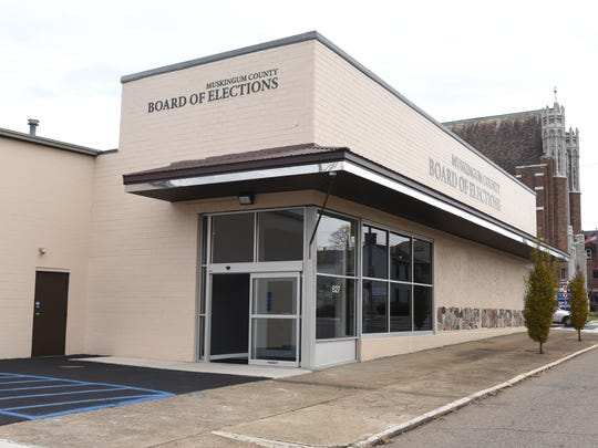 The Muskingum County Board of Elections is moving into its new home on Market Street in downtown Zanesville.