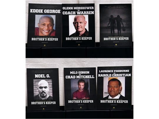 """The announced cast of """"Brother's Keeper"""", an upcoming"""