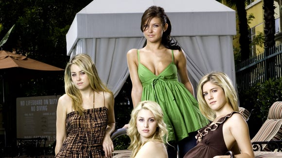 """The ladies of """"The Hills."""""""