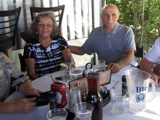 Nancy Aresta, MaryAnn and Ron Raciapppi, John Aresta.