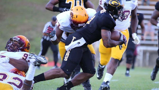 Grambling recorded 258 rushing yards in Saturday's win over Alabama A&M.